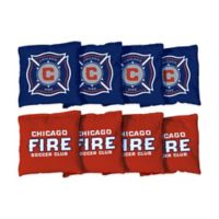 MLS Chicago Fire SC Regulation Cornhole Bags (Set of 8)