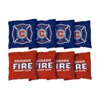 MLS Chicago Fire SC Regulation Cornhole Bags (Set of 8)