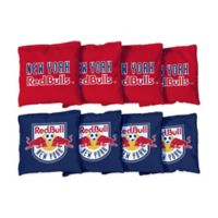 MLS New York Red Bulls Regulation Cornhole Bags (Set of 8)