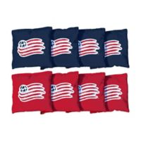 MLS New England Revolution Regulation Cornhole Bags (Set of 8)