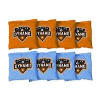 MLS Houston Dynamo Regulation Cornhole Bags (Set of 8)