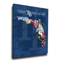 MLB Tampa Bay Rays Florida State of Mind Canvas Print Wall Art