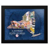 MLB New York Yankees New York State of Mind Canvas Framed Print Wall Art