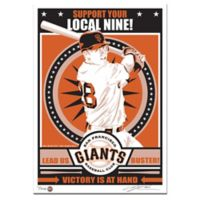 MLB San Francisco Giants Buster Posey That's My Ticket Serigraph