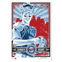 MLB Minnesota Twins Joe Mauer My Ticket Serigraph