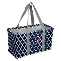 Logo Brands NFL Houston Texans Quatrefoil Picnic Caddy