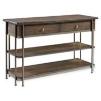 Standard Furniture Nance 2-Drawer Console Table in Tobacco