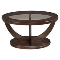 St andard Furniture La Jolla Coffee Table in Merlot