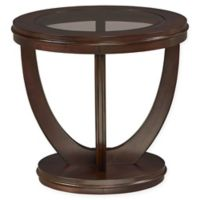St andard Furniture La Jolla End Table in Merlot