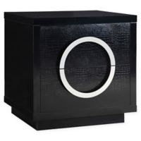 Chic Home Vernazza Melamine Side Table in Black
