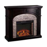 Southern Enterprises Tanaya Electric Fireplace in Ebony