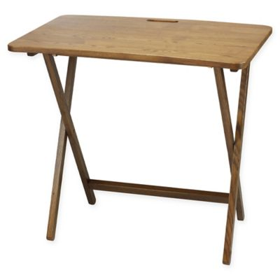 American Trails Arizona Folding Table In Red Oak