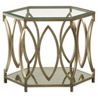 Standard Furniture Mfg. Santa Barbara End Table in Champagne