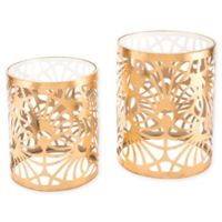 Zuo Tropic 2-Piece Accent Tables in Gold