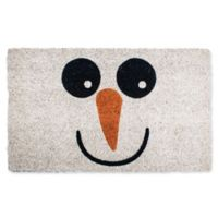 Entryways Snowman 17-Inch x 28-Inch Multicolor Door Mat
