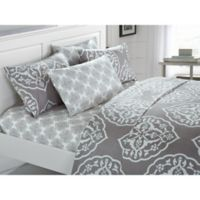 Chic Home Jude King Sheet Set in Grey