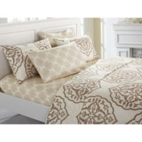 Chic Home Jude King Sheet Set in Beige