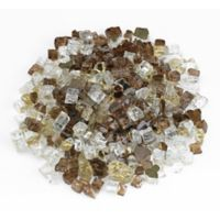 American Fireglass 10 lb. 0.5-Inch Reflective Fire Glass in Zion