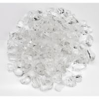 American Fireglass 10 lb. 1-Inch Fire Glass in Ice