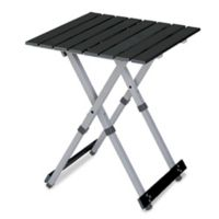 Compact Camp Table 20™ in Black/Chrome