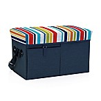 Picnic Time® Ottoman Cooler in Navy