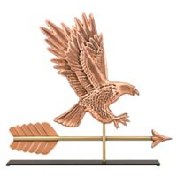 Good Directions American Eagle Table Top Sculpture in Pure Copper
