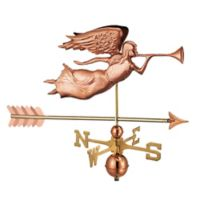 Good Directions Angel with Arrow Weathervane in Copper