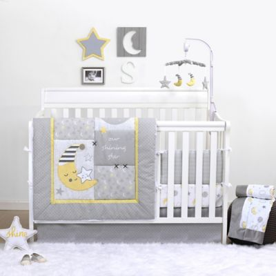 Image Of The Peanut Shell® Shining Star By Belle 3 Piece Crib Bedding Set