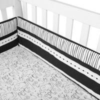 New Country Home Laugh, Giggle & Smile Silhouette Jungle 4-Piece Crib Bumper Set