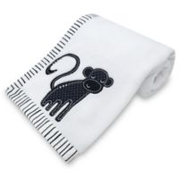New Country Home Laugh, Giggle & Smile Silhouette Jungle Plush Blanket