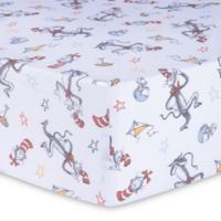 Trend Lab® Dr. Seuss™ Classic Cat in the Hat Fitted Crib Sheet