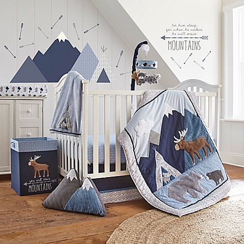 Levtex Baby Trail Mix Crib Bedding Collection Bed Bath