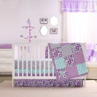 The Peanutshell™ Zoe 4-Piece Crib Bedding Set