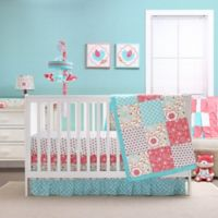 The Peanutshell ™ Gia 4-Piece Crib Bedding Set