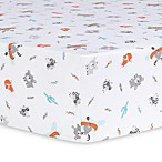 Trend Lab® Moose Canoe Fitted Crib Sheet