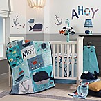 Lambs & Ivy® Ahoy 4-Piece Crib Bedding Set