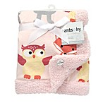 Lambs & Ivy® Little Woodland Forest Reversible Plush Blanket