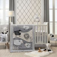 Lambs & Ivy® Little Sheep 4-Piece Crib Bedding Set