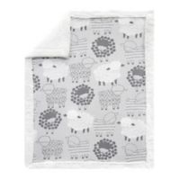 Lambs & Ivy® Little Sheep Reversible Plush Blanket