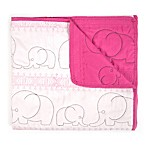 Tadpoles™ Quilted Elephant Baby Blanket in Pink