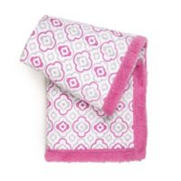 Tadpoles™ Double Layer Plush Baby Blanket in Pink