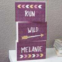 Tribal Inspired For Her Rectangle Shelf Blocks (Set of 3)