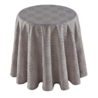 Dansk® Matera 70-Inch Round Tablecloth in Platinum