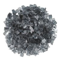 American Fireglass 10 lb. 0.5-Inch Fire Glass in Grey