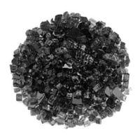 American Fireglass 10 lb. 0.5-Inch Fire Glass in Black
