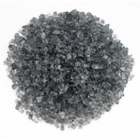 American Fireglass 10 lb. 0.25-Inch Fire Glass in Grey