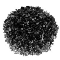 American Fireglass 10 lb. 0.25-Inch Fire Glass in Black