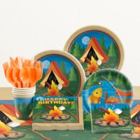 Creative Converting™ 81-Piece Camp Out Birthday Party Tableware Kit
