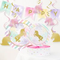 Creative Converting™ 8-Piece Unicorn Sparkle Birthday Party Décor Kit