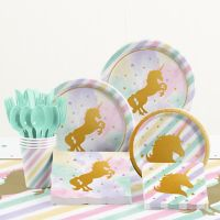 Creative Converting™ 81-Piece Unicorn Sparkle Birthday Party Tableware Kit